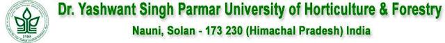 Yashwant Parmar University Solan