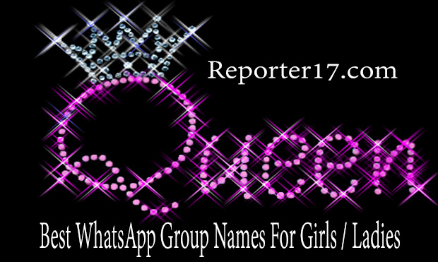Names for groups of girls