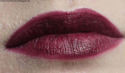 Oriflame The One Lip Sensation Matte Mousse, Boysenberry