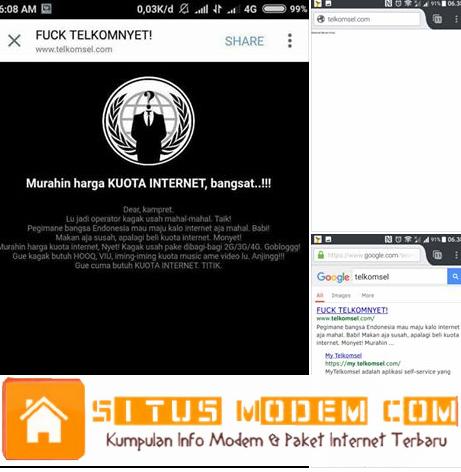 Situs Telkomsel di Hack, Ini Isi Keluhan Si Hacker