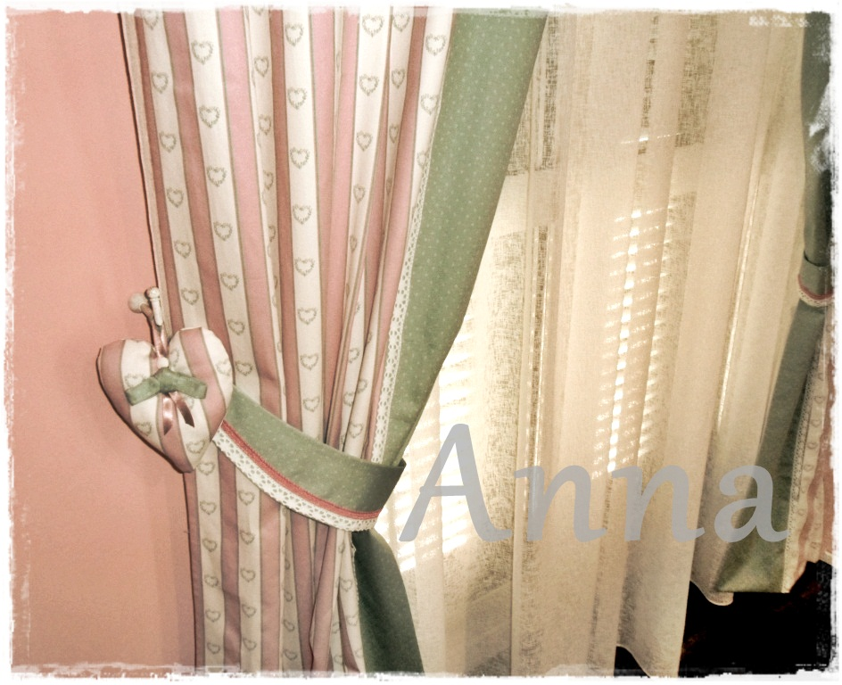 Lecosemeravigliose shabby e country chic passions tende romantiche - Tende country per camera da letto ...