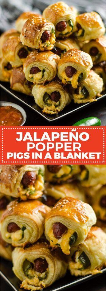 JALAPEÑO POPPER PIGS IN A BLANKET