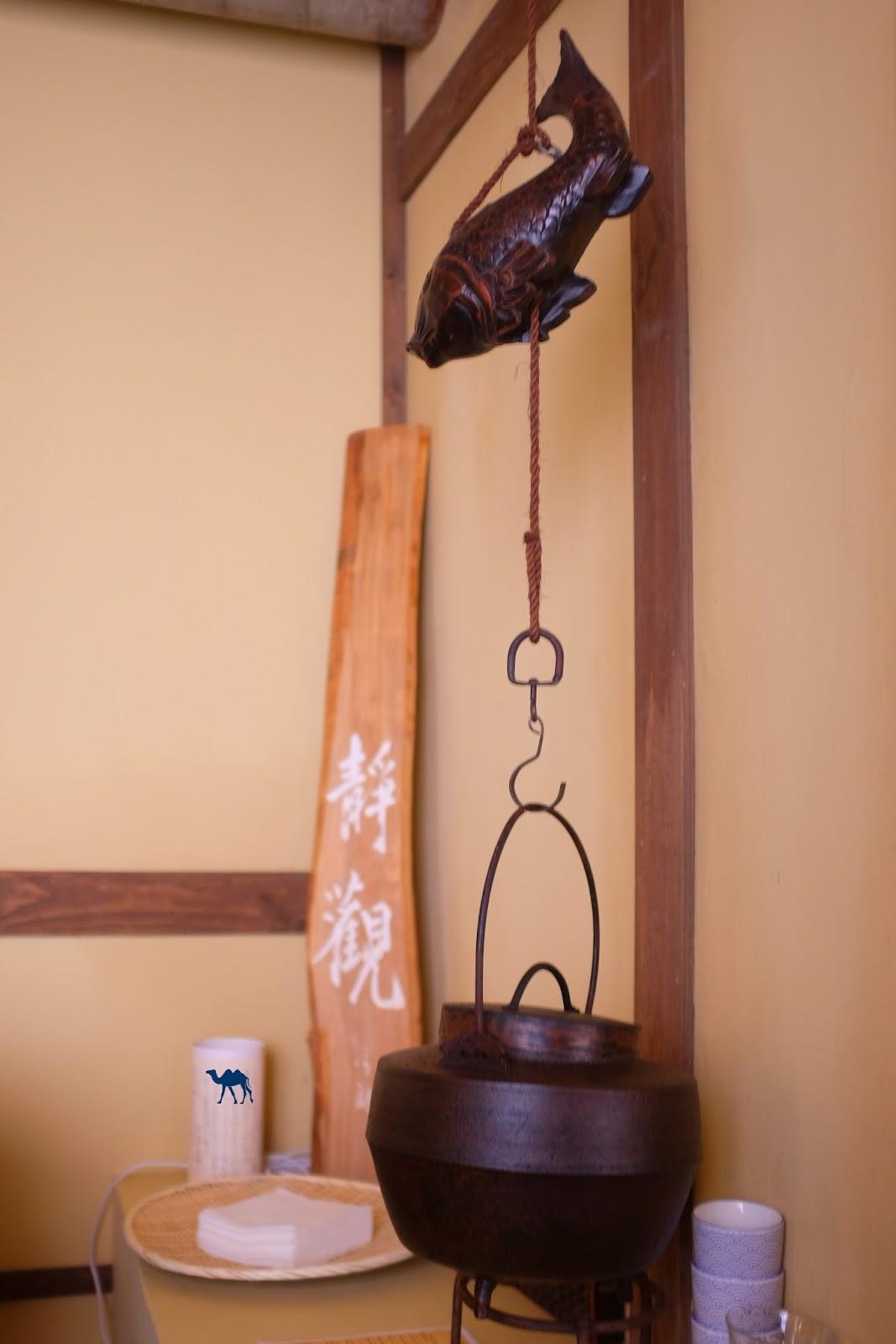 Décor du haut Kodawari - Le Chameau Bleu