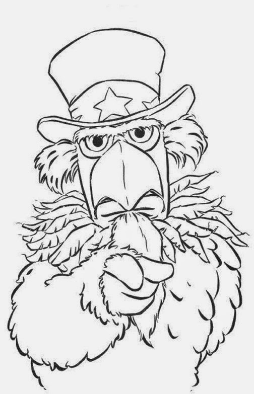 muppets coloring book pages - photo#27
