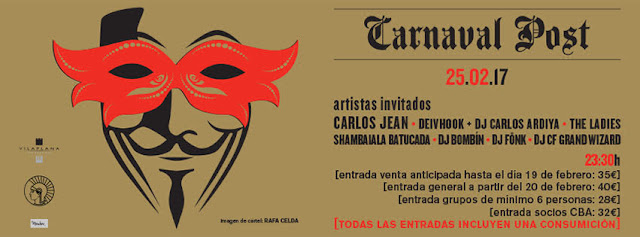 Carnaval Post [2017] en el Círculo de Bellas Artes.