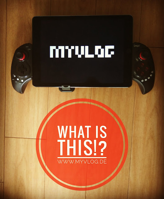 MyVlog Foto: Games - iPad Controller Gameconsole / Spielekonsole  - WHAT IS THIS!? - Start Sommer 2017