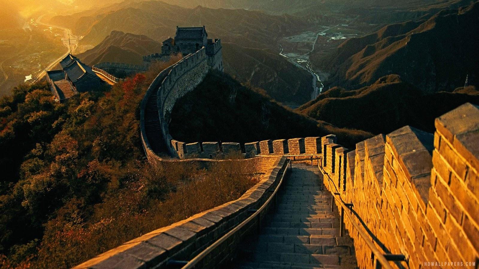 Great wall,China HD Background