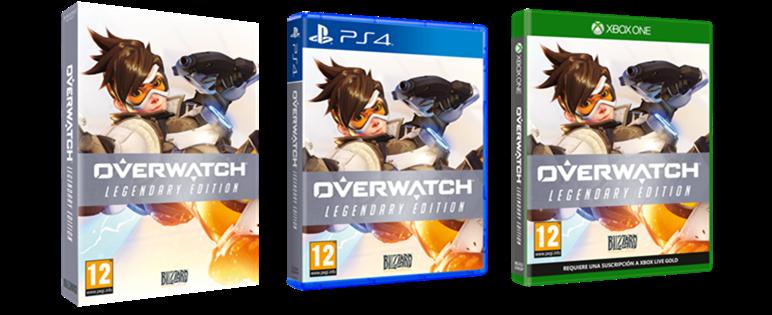 Ya está disponible Overwatch: Legendary Edition en tiendas