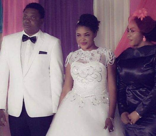 Celebrity Wedding Nollywood Movie: Collette Orji's Wedding Pictures: Nollywood Actress Weds