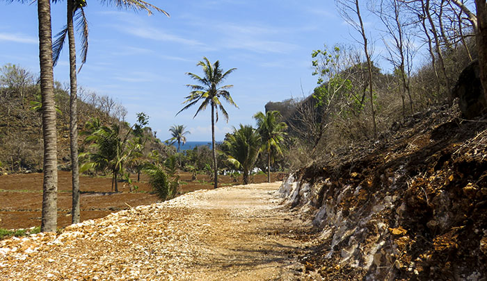 Rute Jalan Setapak Menuju Pantai Krokoh Tahun 2018