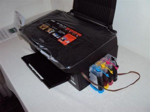 Techprintgeek Epson Tx115 Multifuncion Sistema Continuo