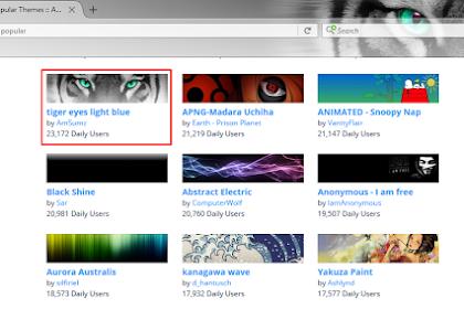 Cara Mengubah Tampilan Browser Mozilla Firefox
