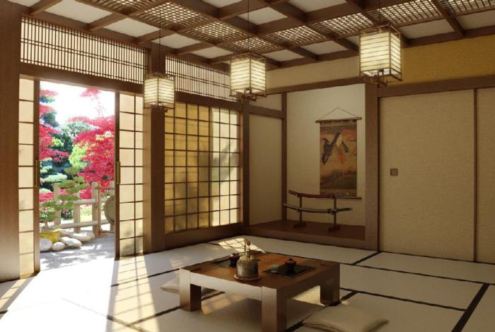 Come arredare il soggiorno in stile giapponese blog di for Arredamento architettura interni