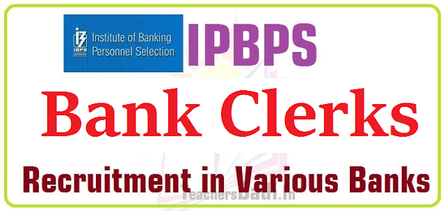 IBPS,Bank Clerks Recruitment 2016,Apply Online