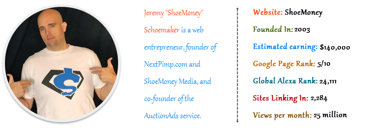 "Jeremy ""ShoeMoney"" Schoemaker - Shoe Money"