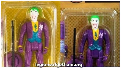 Toy Biz Joker Figure Head Face Variants Curl