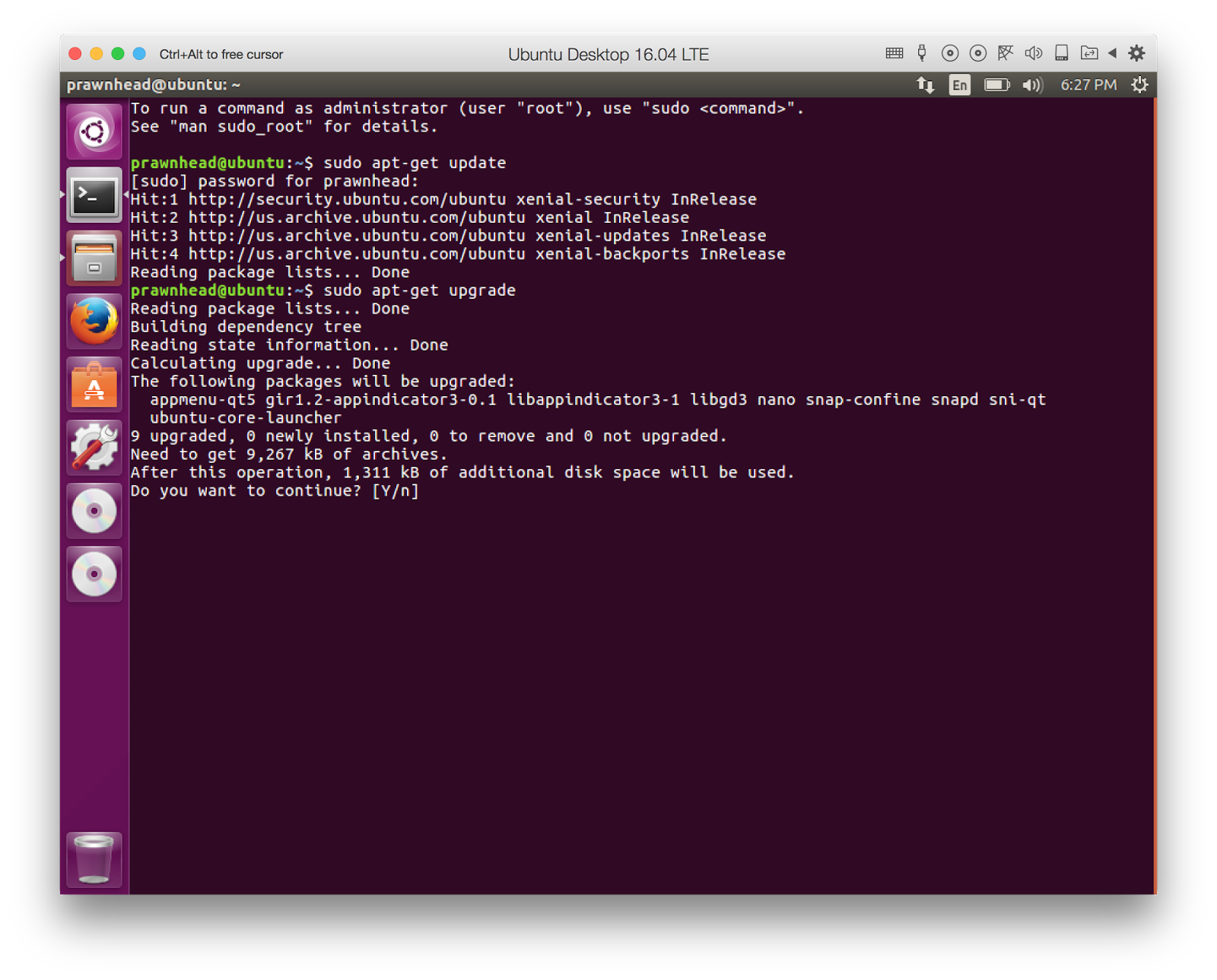 Ruby on Rails on Linux