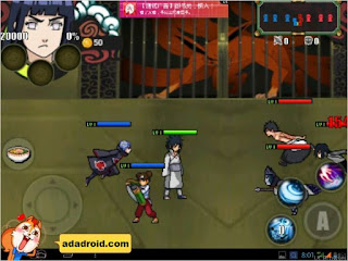 Naruto Storm 4 by Jacky Apk Android (Narsen Mod)