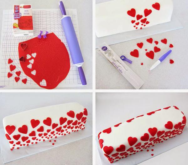 Торт-сюрприз «I Love you» с надписью внутри