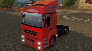 KAMAZ 5490 truck mod