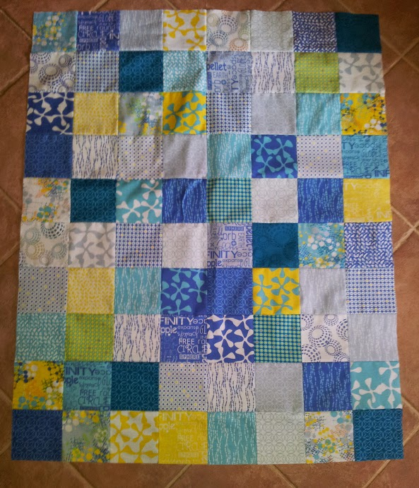 Second Quilt by Joanne