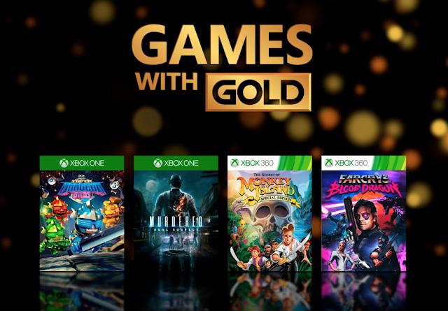 Se comparten los Games With Gold de noviembre