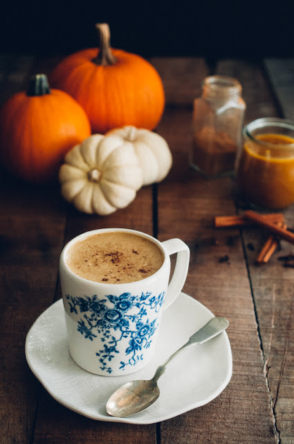 Spiced Pumpkin Tea Latte (AIP, Paleo, Low FODMAP)
