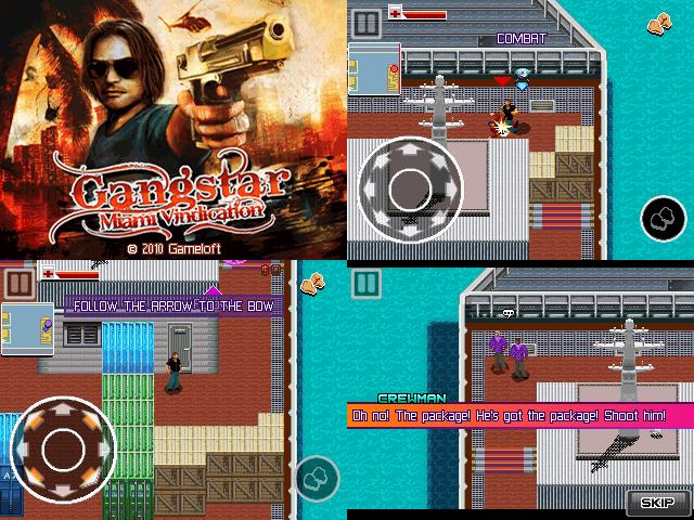 Gangstar 3: Miami Vindication Full Touchscreen 240 x 320 Mobile Java