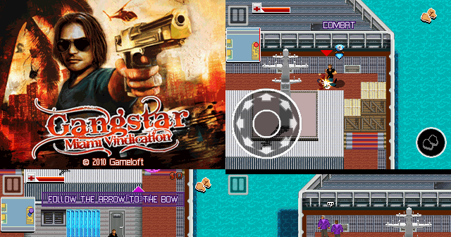 gangstar 3: miami vindication full touchscreen 240 x 320