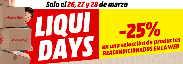 Top 10 ofertas promoción Liqui Days de Media Markt