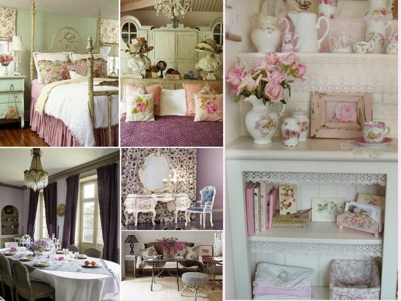 Todo con las flores decorar crear degustar cuidar - Comprar decoracion vintage ...