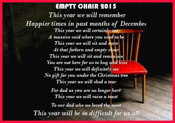 English Poem (Empty Chair)