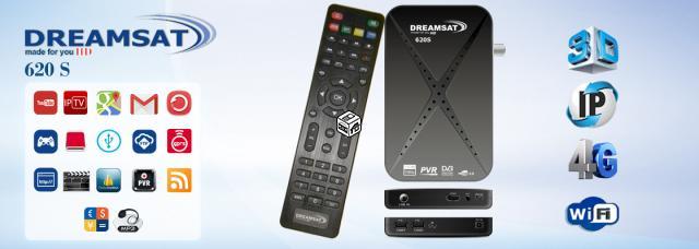 شرح تحديت جهاز دريمسات  dreamasat s620s