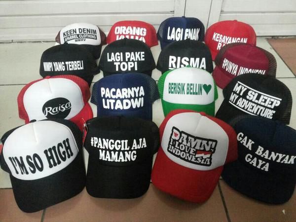 Jual Topi   Snapback Polos di Medan - Bisnis Online Bersama f47ea2435d