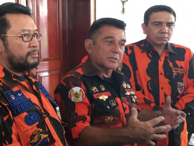 Japto Pastikan Pemuda Pancasila tak akan Bubarkan Deklarasi #2019GantiPresiden di Riau