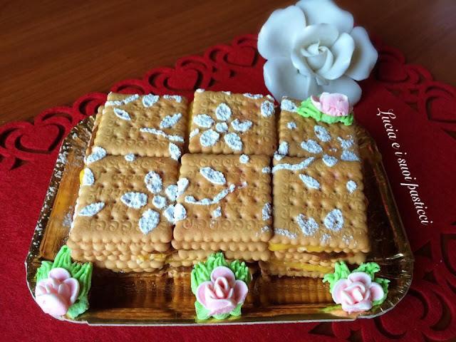 ricetta mattonella di biscotti secchi