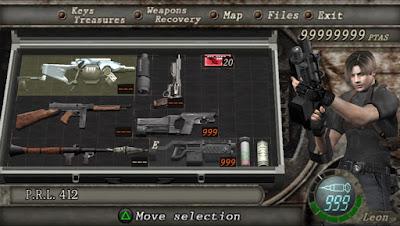Cheat Game Resident Evil 4