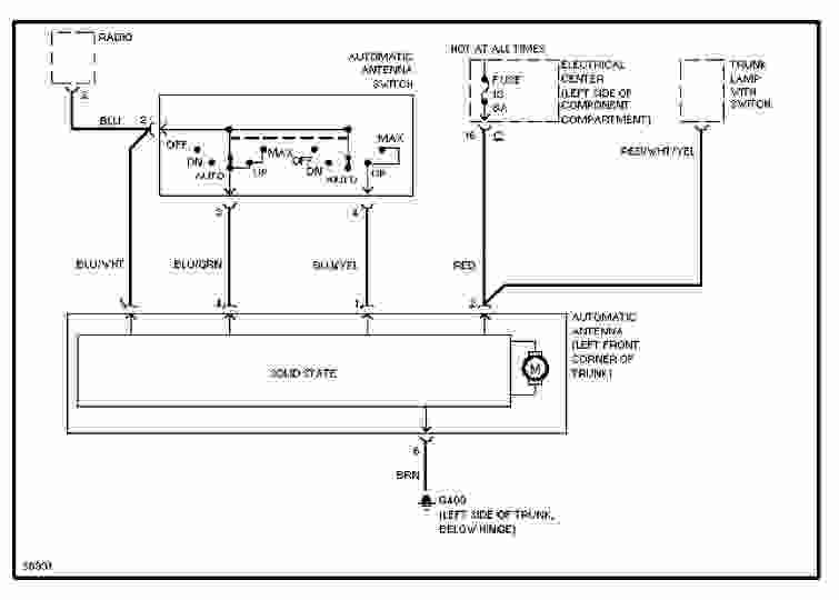 1989 Mercedes-Benz 190E Wiring Diagram