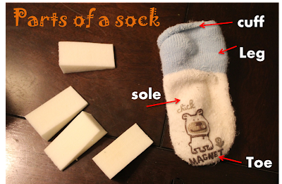 Infant Sock Upcycle