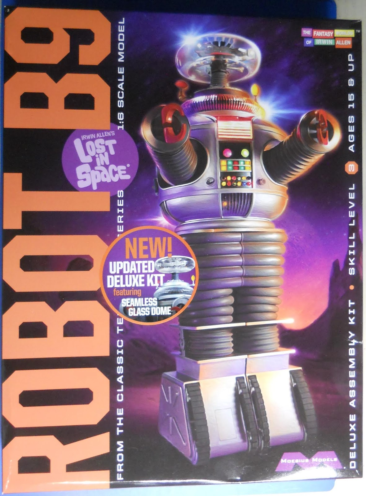 Scale Model Kit Review Blog (SMKR): Moebius Models ROBOT B9 Updated