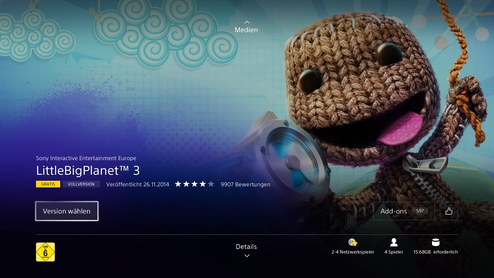 Yay Little Big Planet 3 Free On Playstation Plus D Kunmis Space Ps4 It Is A Bit Unusual For Sony To Throw In List Games Into Download Monthly Usually They Indie
