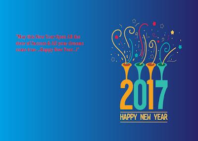 2017 New Year Whatsapp Wishes