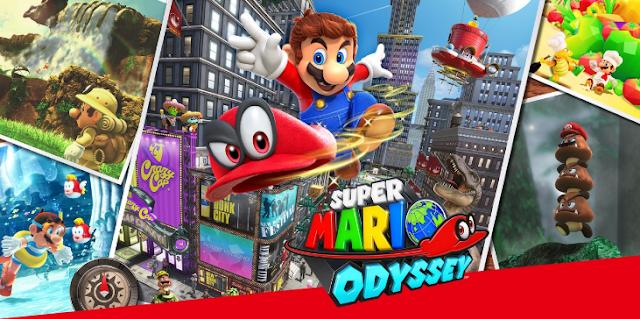 سوبر ماريو أوديسي - Super Mario Odyssey