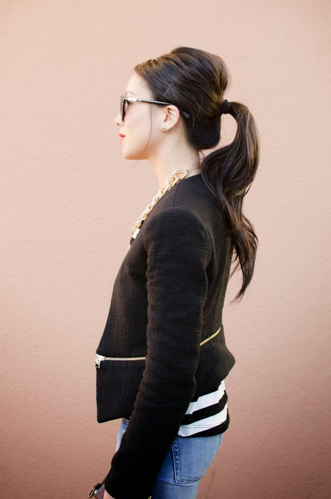 bouffant-hair-style-ponytailp-outfit