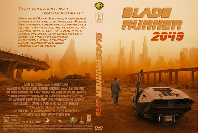 Blade Runner 2049 DVD Cover