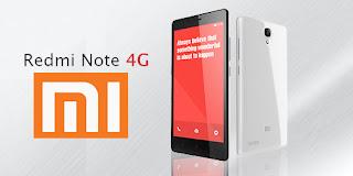 Harga Xiaomi Redmi Note 4G Terbaru, Dibekali Layar 5.5 inch Jaringan 4G LTE