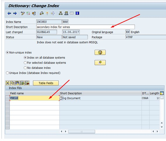 naphposhi • Blog Archive • Sap table index activation number