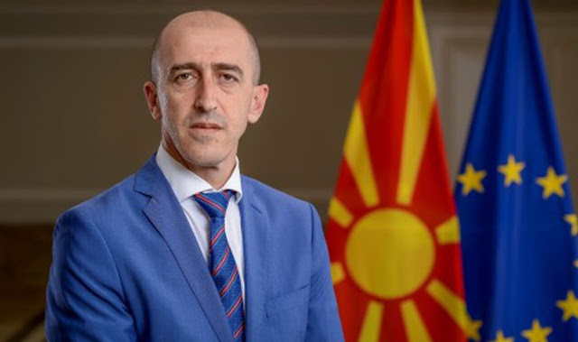 Macedonia's Albanian Minister of Justice resigned for moral reasons