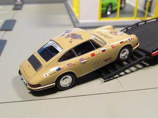 greenlight ramp truck porsche