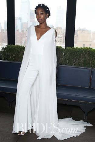 High End Bridal Jumpsuits Part Of Spring 2018 Vogue Of Women